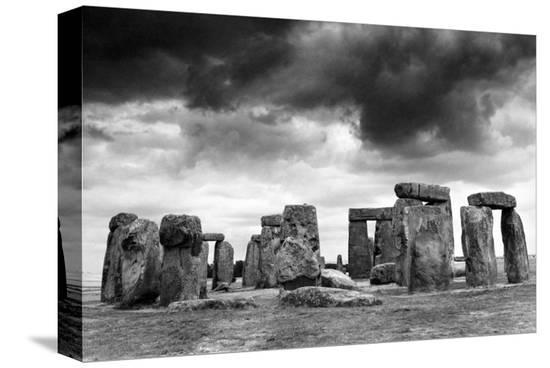 Stonehenge--Stretched Canvas Print
