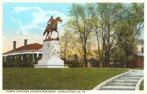 Stonewall Jackson Monument, Charlottesville, Virginia