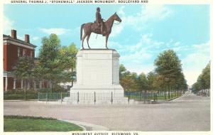 Stonewall Jackson Monument, Richmond, Virginia