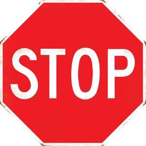 Stop Sign Tin Sign
