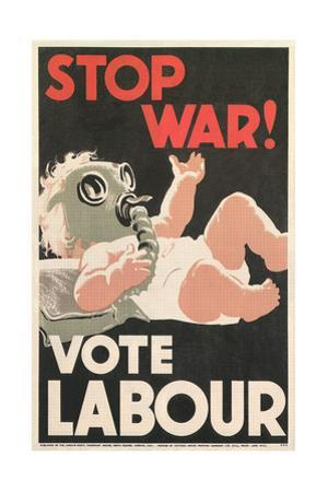 Stop War, Baby in Gas Mask