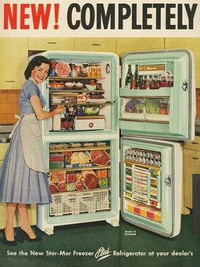 Stor-Mor, Magazine Advertisement, UK, 1950