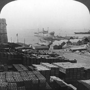Stores at Sedd El Bahr, Gallipoli, Turkey, World War I, 1915