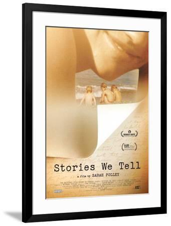 Stories We Tell Movie Poster--Framed Poster