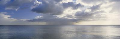 Storm Forming over the Sea, Gulf of Mexico, Sanibel Island, Florida, USA
