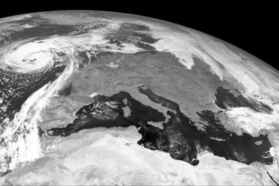 Storm Ophelia, Satellite Image