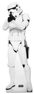 Stormtrooper Star Wars Movie Lifesize Cardboard Cutout