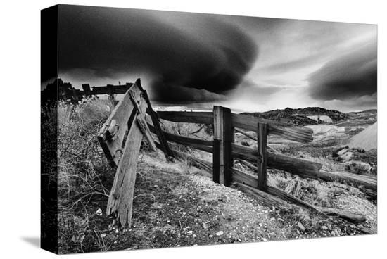 Stormy Skies, Nevada--Stretched Canvas Print