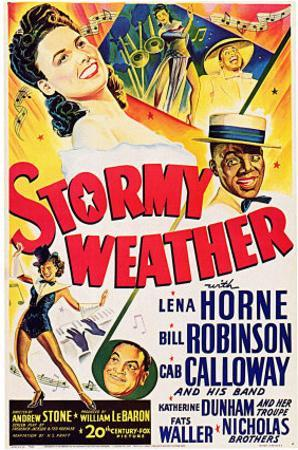 Stormy Weather, Swedish Movie Poster, 1943