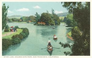 Stow Lake, Golden Gate Park, San Francisco, California