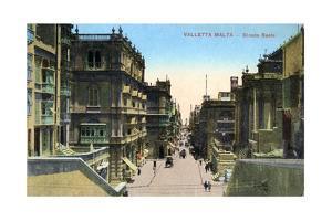 Strada Reale, Valletta Malta, 20th Century