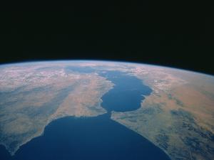 Strait of Gibraltar From Space Shuttle