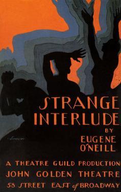 Strange Interlude by Eugene O'Neill, c.1928