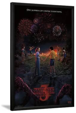 STRANGER THINGS 3 - KEY ART