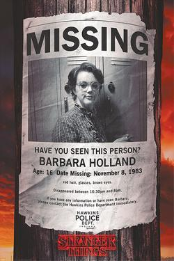 Stranger Things - Missing Barb