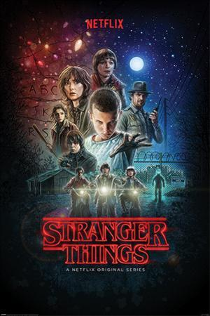 STRANGER THINGS (ONE SHEET)