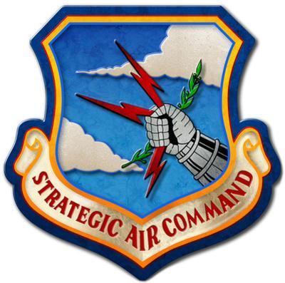Strategic Air Command Steel Sign