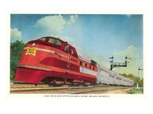 Streamliner, Rock Island Rocket
