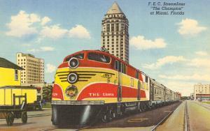 Streamliner Train, Miami, Florida