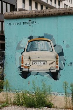 Strecht of the Berlin Wall in Potsdamer Square. Berlin. Germany