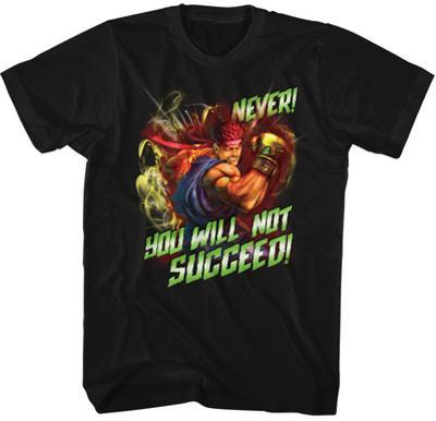 Street Fighter- Never Succeed