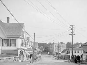 Street in Lakeport, N.H.