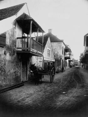 Street in St. Augustine, Florida