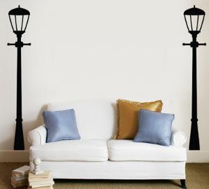 Street Lamps - Black