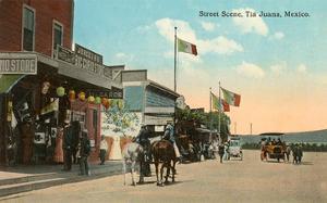 Street Scene, Tijuana, Mexico
