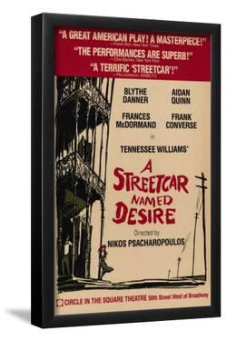 Streetcar Named Desire, A - Broadway Poster , 1988