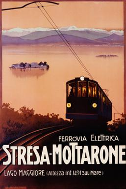 Stresa-Mottarone Poster
