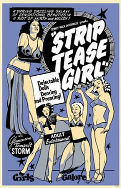 Strip Tease Girl