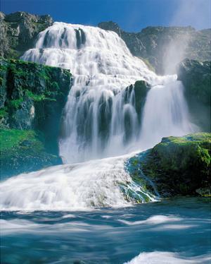 Strompglifra Foss Iceland