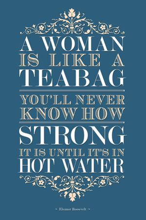 Strong Woman Eleanor Roosevelt Quote