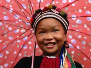 Ethnic Dao Lantien Girl from Mountainous Northern Vietnam, Tam Duong, Lao Cai, Vietnam by Stu Smucker