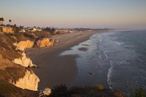 Beach at Sunset by Stuart