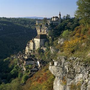 Autumnal View, Rocamadour, Lot, Midi-Pyrenees, France, Europe by Stuart Black