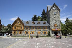 Bariloche Alpine style Centro Civico building, Bariloche, Nahuel Huapi National Park, The Lake Dist by Stuart Black