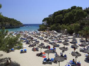 Cala Santanyi, Mallorca (Majorca), Balearic Islands, Spain, Mediterranean, Europe by Stuart Black