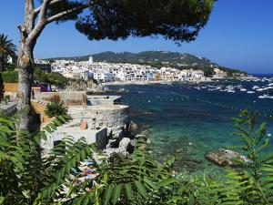 Calella De Palafrugell and Cap De St. Sebastia, Costa Brava, Catalonia, Spain, Mediterranean, Europ by Stuart Black