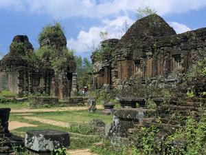 Cham Ruins, My Son, UNESCO World Heritage Site, Near Hoi An, South Central Coast, Vietnam, Indochin by Stuart Black