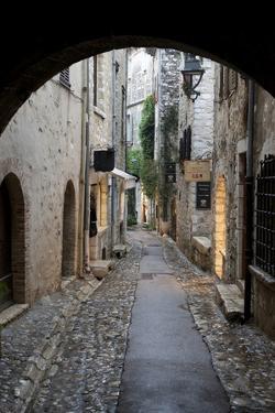 Cobbled Alleyway, Saint-Paul-De-Vence, Provence-Alpes-Cote D'Azur, Provence, France, Europe by Stuart Black