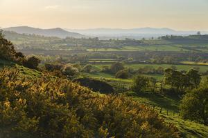 Cotswold Landscape with View to Malvern Hills by Stuart Black