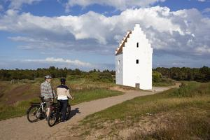 Den Tilsandede Kirke (Buried Church) Buried by Sand Drifts by Stuart Black