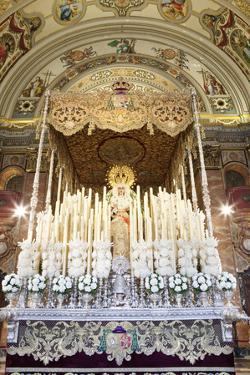 Float (Pasos) of Virgin Mary Carried During Semana Santa (Holy Week) by Stuart Black