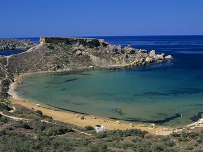 Ghajn Tuffieha Bay, Malta, Mediterranean, Europe