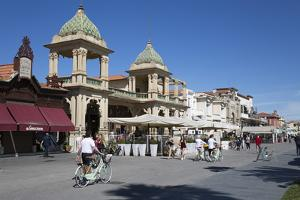 Gran Caffe Margherita and Art Nouveau Buildings Along Seafront Promenade, Viareggio, Tuscany by Stuart Black