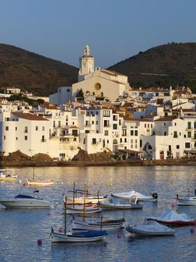 Harbour and Town, Cadaques, Costa Brava, Catalonia, Spain, Mediterranean, Europe by Stuart Black