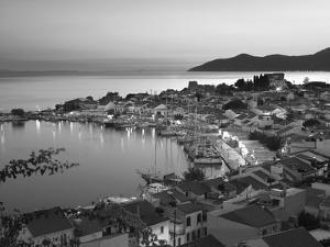 Harbour at Dusk, Pythagorion, Samos, Aegean Islands, Greece by Stuart Black