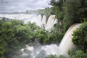 Iguazu Falls, Iguazu National Park, UNESCO World Heritage Site, Misiones Province, The Northeast, A by Stuart Black